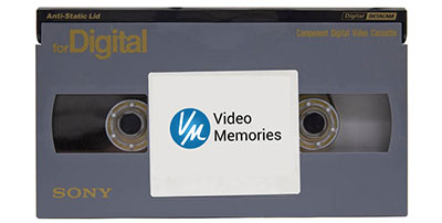 Digital Betacam Tape Transferred to DVD & File
