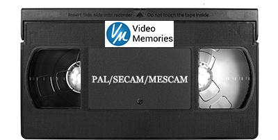 PAL/SECAM/MESCAM Tape Transferred to DVD & File