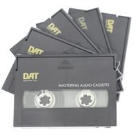 Digital Audio Tapes Transferred to CD & File