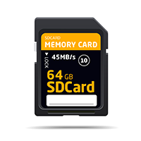 SD card to DVD